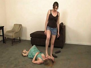 Lesbian Trampling
