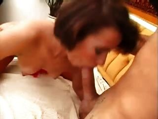Strapon Couple Have Fun Time At Home