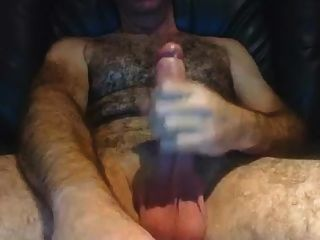 Hairy Daddy, Big Cock And Hot Verbal
