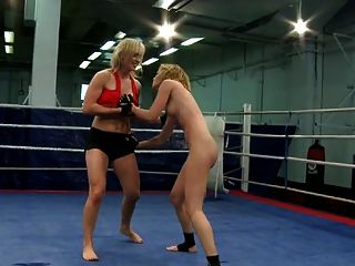 Lesbian Nude Wrestling Competition Part Ii