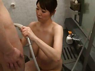 Sakuragi Mio-rich Overflowing Breast Milk Scene4 By Tom