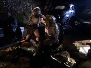 British Slut Kelle Marie In A Futureistic Lesbian Scene