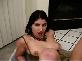Brunette Fisted By Bighanded Man - A Tough Challenge