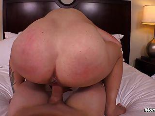 Big Natural Tits Milf Gets Hardcore Fucking