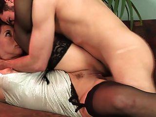 Hot Mature In Stockings & Heels Fucks Great (top Mature)