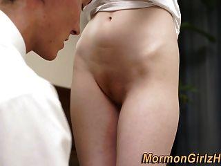 Redheaded Mormon Banged