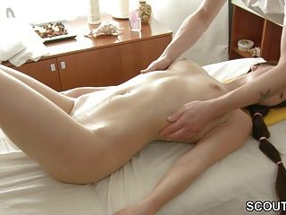 Petite 18yr Old Teen Seduce To Fuck At Massage In Parlour