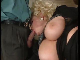 Bbw Blonde Milf With Big Boobs Fucked By 2 Men - Dped