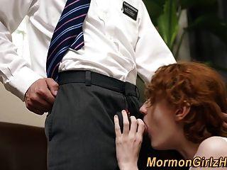 Teen Mormon Creampied