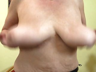 Granny With Saggy Tits And Thirsty Pussy