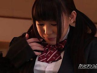 Cute Little Asian Flirts With Teacher