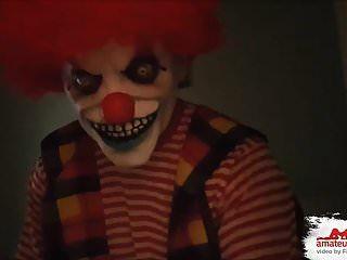 Brutal...!!! Fieser Horror Clown, Benutzt Mich Als Anales Fi