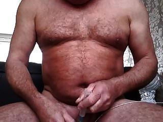 Pumping Up Cock And Ball With Air To Make It Bigger