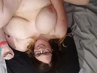 Bbw Wife Fucked And Cum On Face,tits And Belly Vid B
