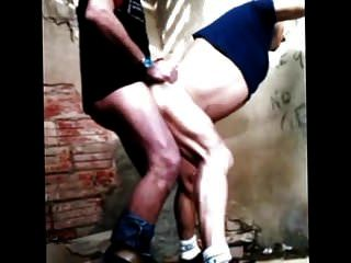 Compilation From A Hot Old Man Fucking Outside