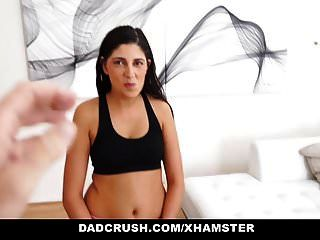 Dadcrush - Step Daughter Begs For Cock
