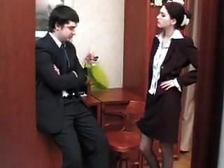 The Boss Fucks The Secretary In Anal
