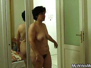 Hairy Pussy Old Mom Cheating Sex