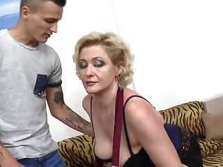Mom Sandra Gets Taboo Sex With Young Son