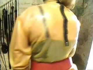 Latex Bitch Ass Fucked And Fisted By Rubber Mistress