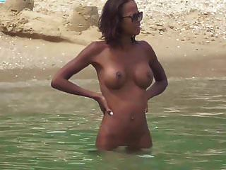 Black Naturist Wife Big Tits Small Ass