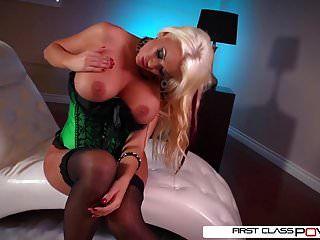 First Class Pov - Summer Brielle Suck A Big Dick, Big Boobs