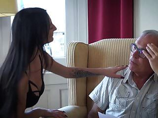 Old Young Porn Threesome With Petite Teen Pussy Sexy Babe