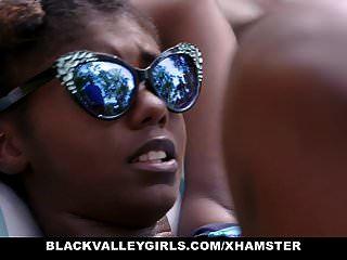 Blackvalleygirls - Hot Ebony Teen Fucks Swim Coach