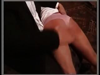 Aunty Takes A Caning For Her Niece