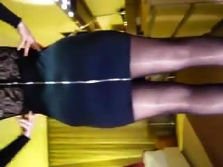 42 Years Old Wife Is A Real Hotwife. Nice Dress Pantyhose