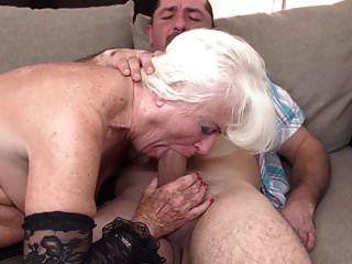 Desperate Granny Suck And Fuck Big Penis