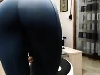 Ass In Yoga Pants Tease
