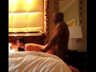 Wife Cheats On Husband With Black Bull In Hotel