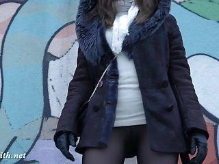 Jeny Smith Pantyhose And High Heels Fetish Tease