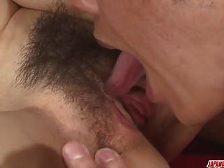 Kanako Iioka Loves The Hard Inches Down Her Pussy And Ass -