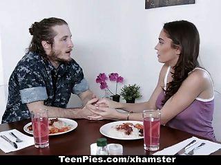 Teen Pie - Hot Girlfriend Impregnated By Boyfriend