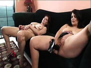 Lesbian Grannies Tit To Clit