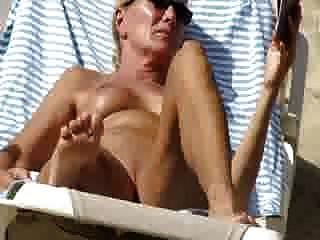 Nudist Granny Beach Exposure