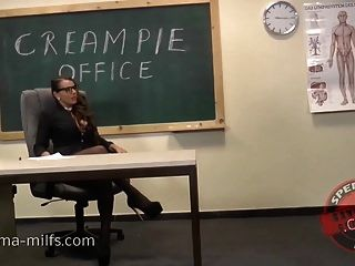 Cum At The Office For Sperma-milf Sexy Susi