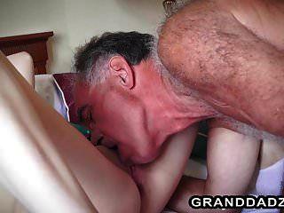 Sweet Teen Vera Seducing Her Old English Teacher Into Sex