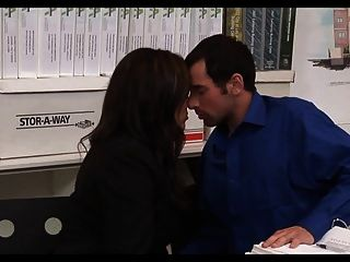 Busty Milf Fucks Her Employees