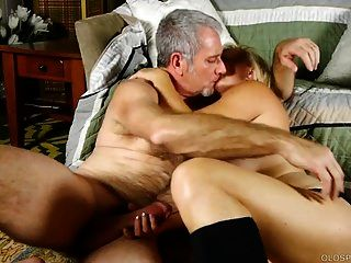 Super Sexy Old Spunker In Kinky Boots Is Such A Hot Fuck