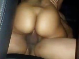 Car Back Seat Sex With Wifes Friend. Cheating Husband