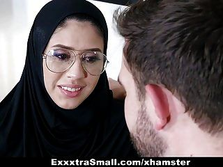 Exxxtrasmall - Teen Wearing Hijab Fucked