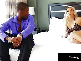Hot Serbian Nympho Nina Kayy Cunt Banged By A Big Black Cock