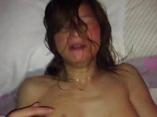 Korean Guy Fuck Chinese Friends Mom Cum  In Mouth