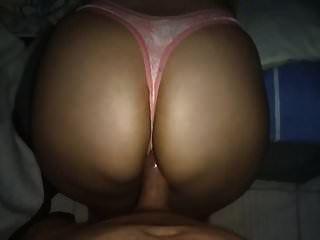 Pink Viper Skin Thong!! Cumming On Sister Big Ass!!