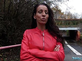 Public Agent Genuine Milf Fucks For Cash