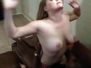 Black Cums In Her Pussy And Hubby Eats It