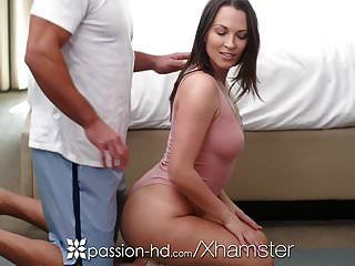Passion-hd Yoga Interrupted Massage Fuck And Facial